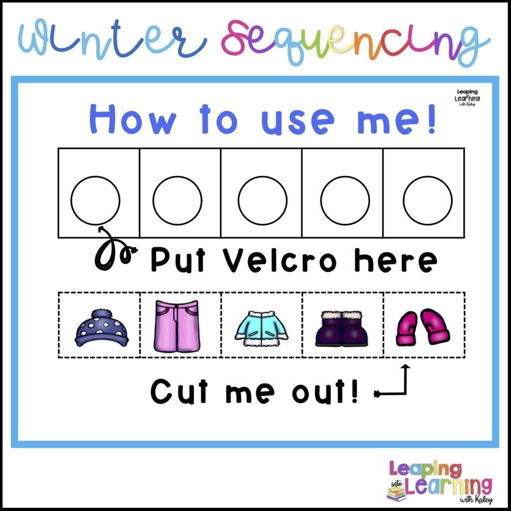 Clothing Readiness Skills For Kindergarten Winter