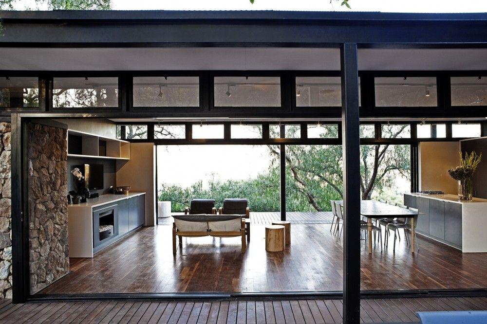 Gallery Of Westcliff Pavilion Gass 1 Steel Frame House Modern Modular Homes Modular Homes