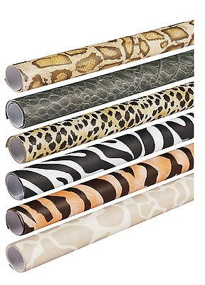 Pacon Fadeless Assorted Animal Pattern Safari Prints Roll, 24 in X 8 ft, Pack of