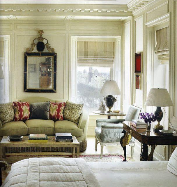 Michael S Smith Design In Manhattan Chambre A Coucher Design