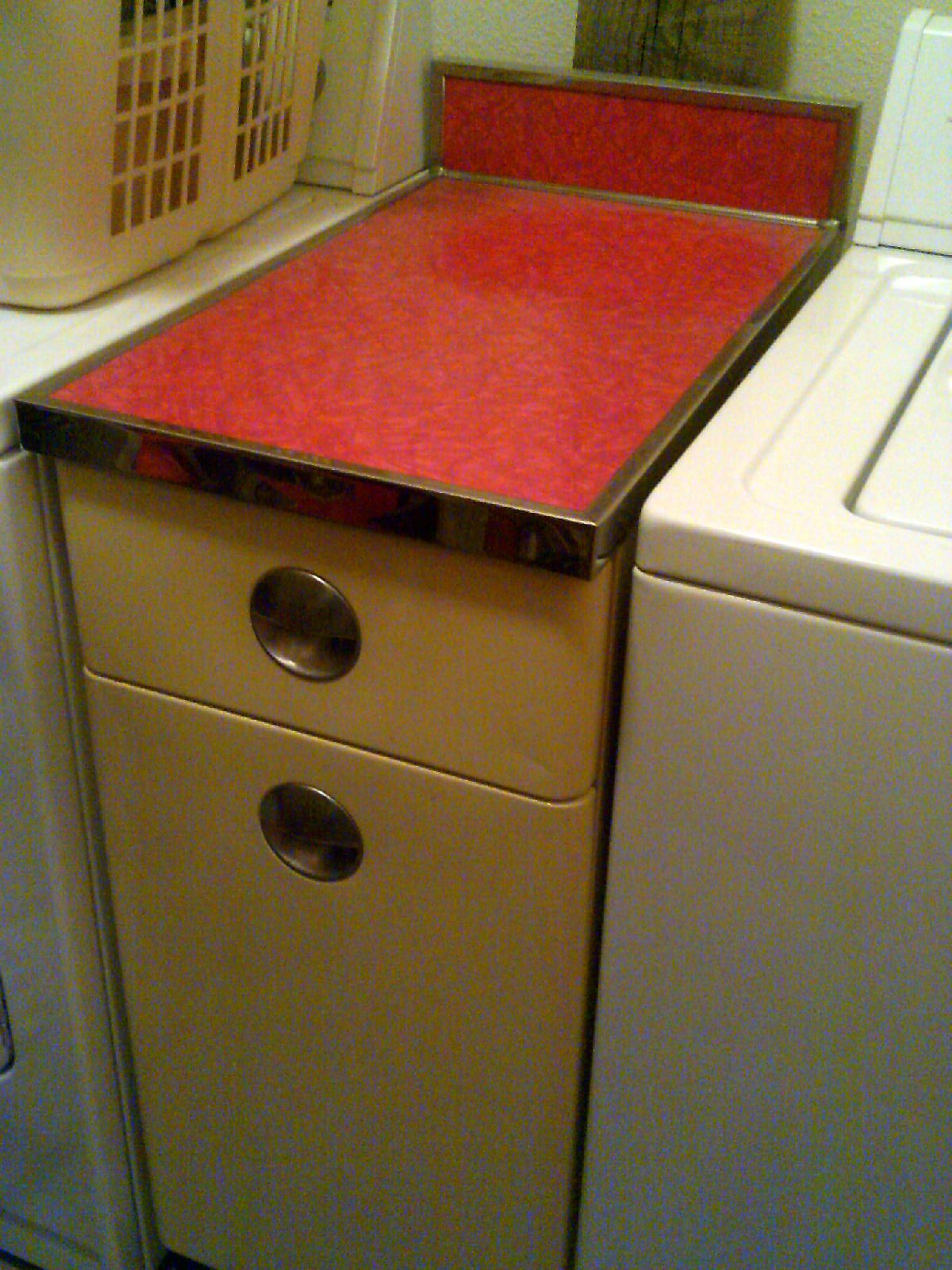 Sears Roebuck And Co Homart Customatched Sink Cabinet Found At Goodwill With Half Price Color Tag For 2 Kitchen Renovation Design Homart Kitchen Renovation