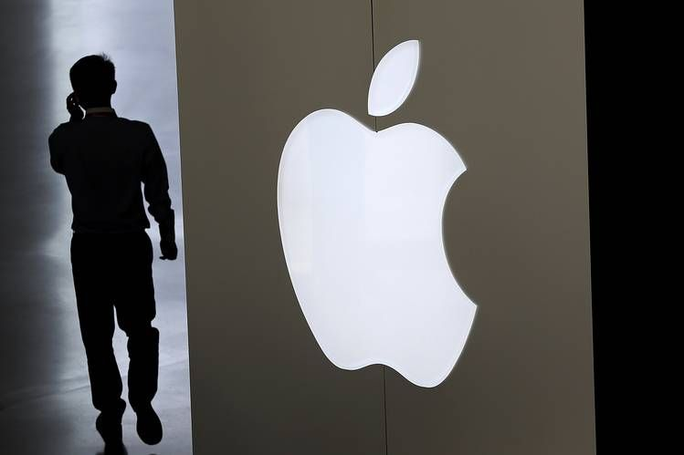 Shares of Apple Inc. dropped sharply after the company's results fell short of elevated expectations....