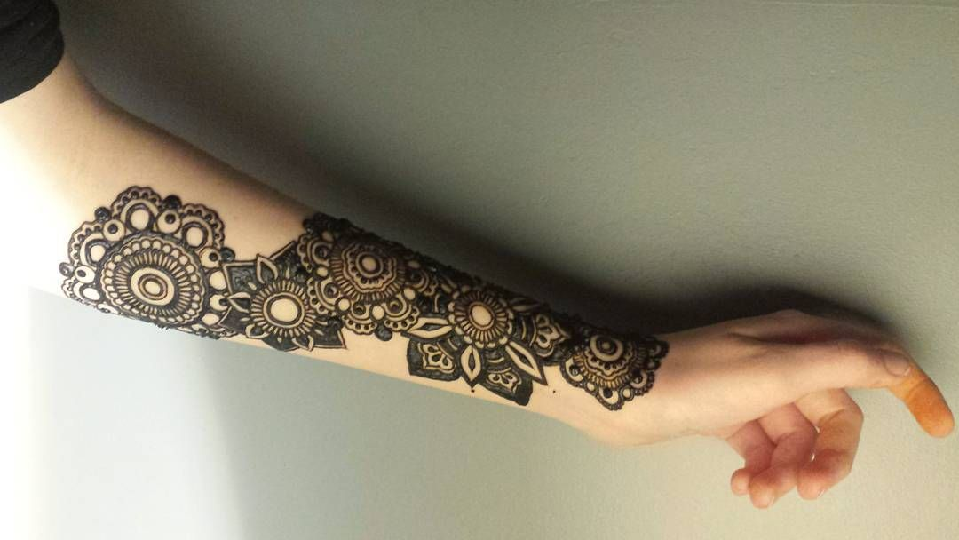 """orange fingers  as always, I'm up too late doing henna!"""