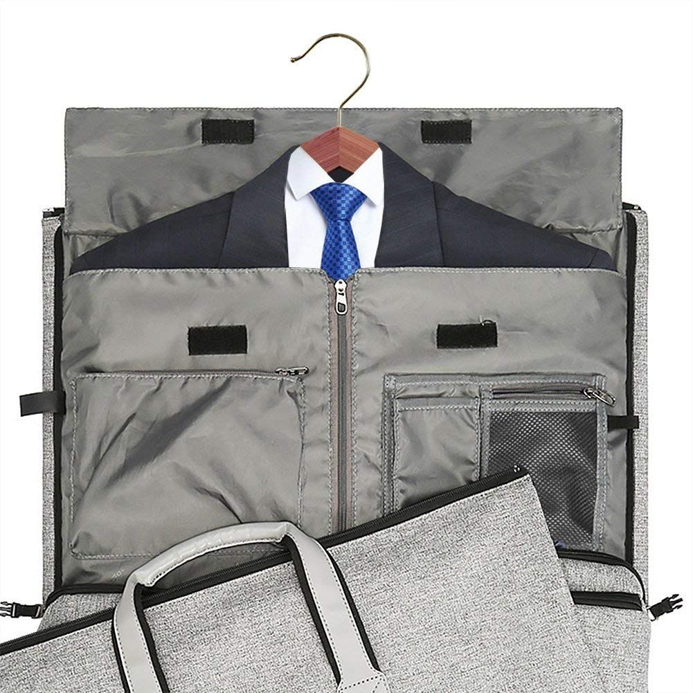 4394b6031294 Amazon.com   Convertible Garment Bag with Shoulder Strap, Modoker ...