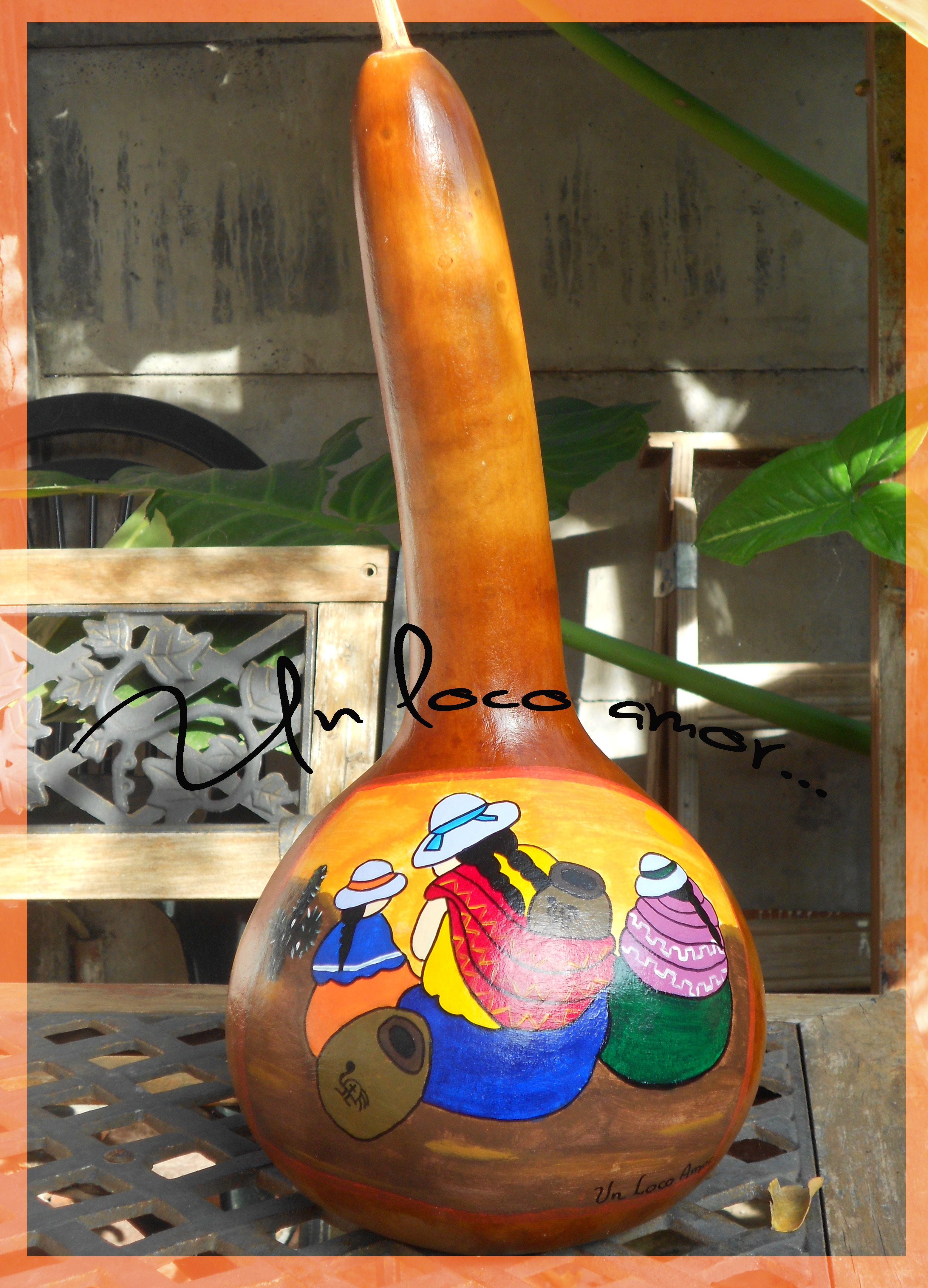 Calabazas pintadas arte pinterest calabazas - Calabazas pintadas y decoradas ...