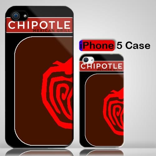 Chipotle Logo chipotle mexican grill jalapeno chili pepper logo iphone 5 case
