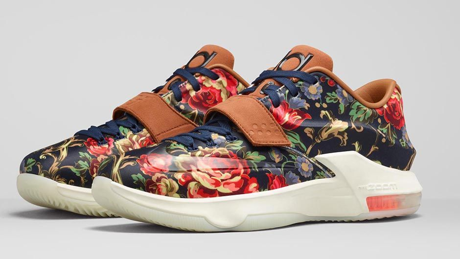 """best service 2171f 124ac Nike KD 7 EXT """"Floral"""""""
