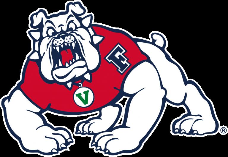 Fresno State Bulldogs Logo Png Image In 2020 Embroidery Logo Fresno Bulldogs Fresno State