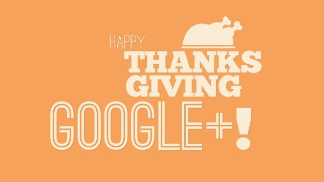A great idea about how you can give thanks to people on your social networks - the example here was Google Plus but this idea is not just for Thanksgiving and G+!