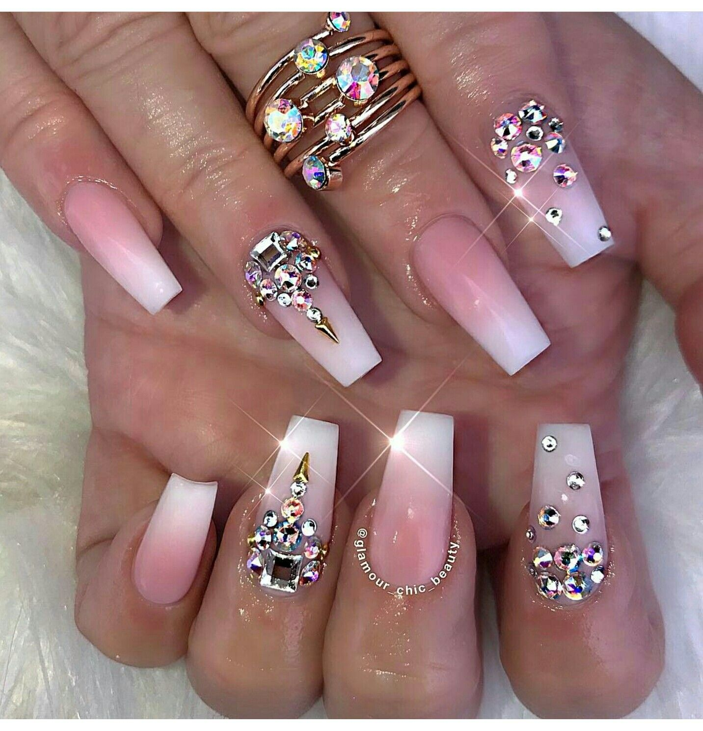 Lilshawtybad| | Womens Classy Stilletos | Pinterest | Nail nail ...
