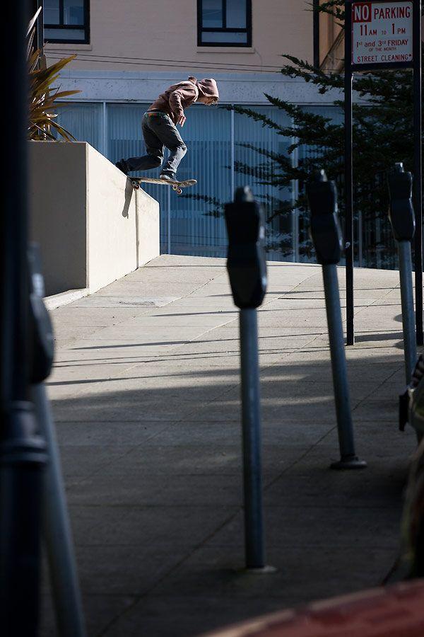 TYLER BLEDSOE/ BACKSIDE TAILSLIDE / SAN FRANCISCO, CALIFORNIA / PHOTO BY SAM MCGUIRE