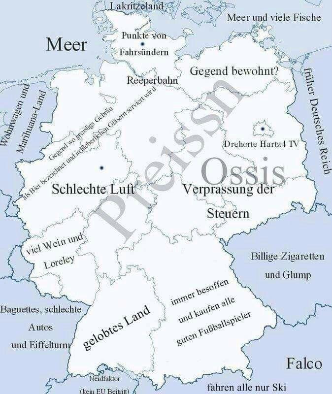 So Oifach Ko Ma Des Erklara Landkkarte Deutschland Schwabisch