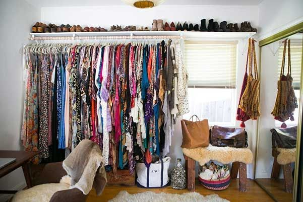 25 ideas y consejos para organizar el armario/vestidor.