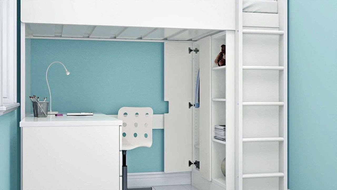 Image Result For Ikea Stuva Loft Bed With Storage
