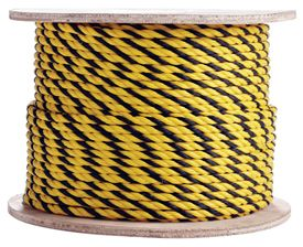 Polypropylene Rope Yellow Yellow Black Marine Rope Polypropylene Shock Cord