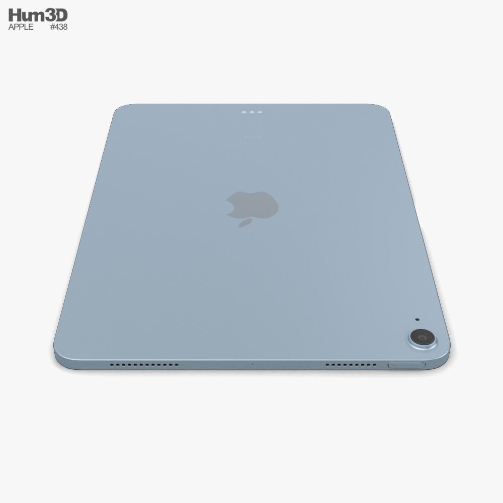 3d Model Of Apple Ipad Air 2020 Sky Blue Apple Ipad Apple Ipad Air Ipad Air