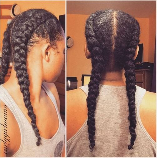 I Am Currently Obsessed With Dutch Braids Emily Cottontop Hair Styles Curly Hair Styles Natural Hair Styles