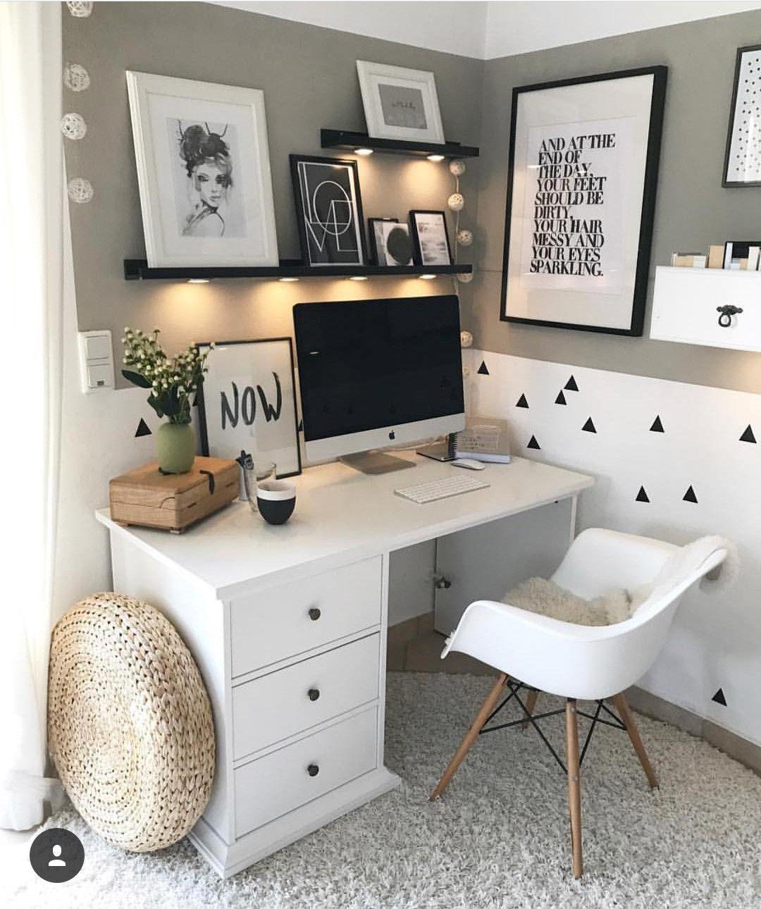 pin von kimiko home auf interior design pinterest arbeitszimmer buero und schreibtisch. Black Bedroom Furniture Sets. Home Design Ideas