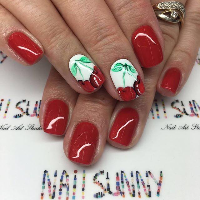 Nail Art #1610 - Best Nail Art Designs Gallery | Pinterest | Red ...