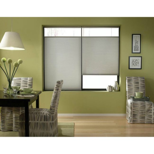First Rate Blinds Silver Cordless Top Down Bottom Up 31 To 31 5 Inch Wide Cellular Shades Honeycomb Shades Cellular Shades Shades Blinds