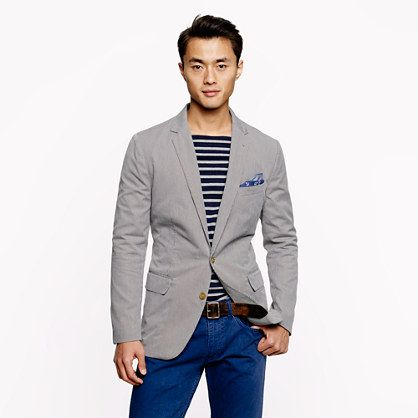 jcrew // if you're looking for an unconstructed blazer i recommend ...
