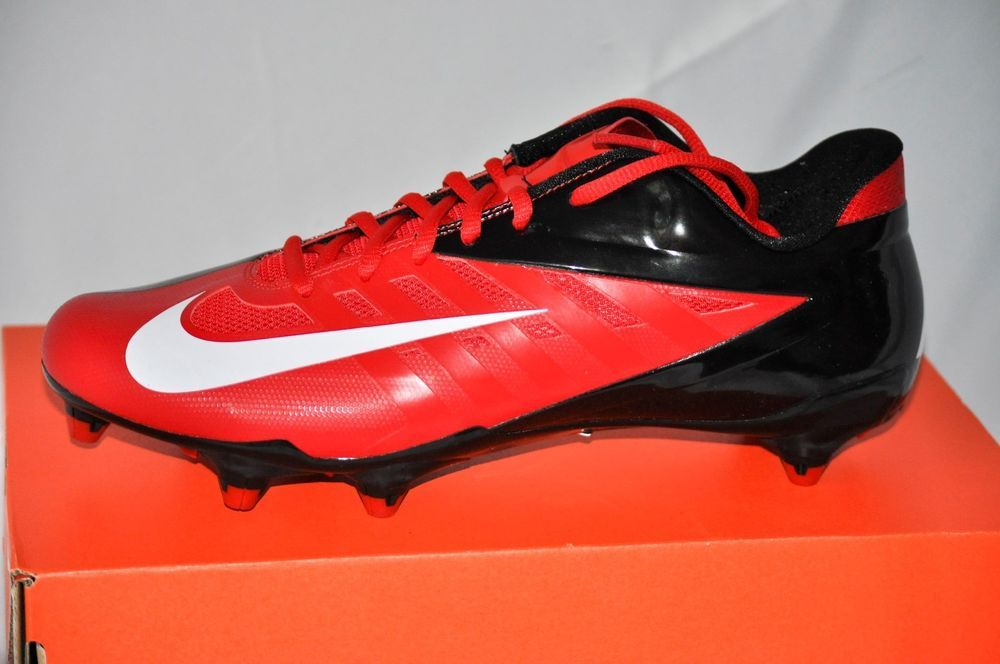 Nike Vapor Pro Low D Men S Football Cleats Game Red White Black Size 10 Nike Mens Football Cleats Football Shoes Football Cleats