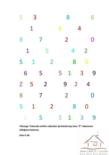 1sınıf Dikkat Etkinlikleri 11 Montessoriysf Pinterest Voor