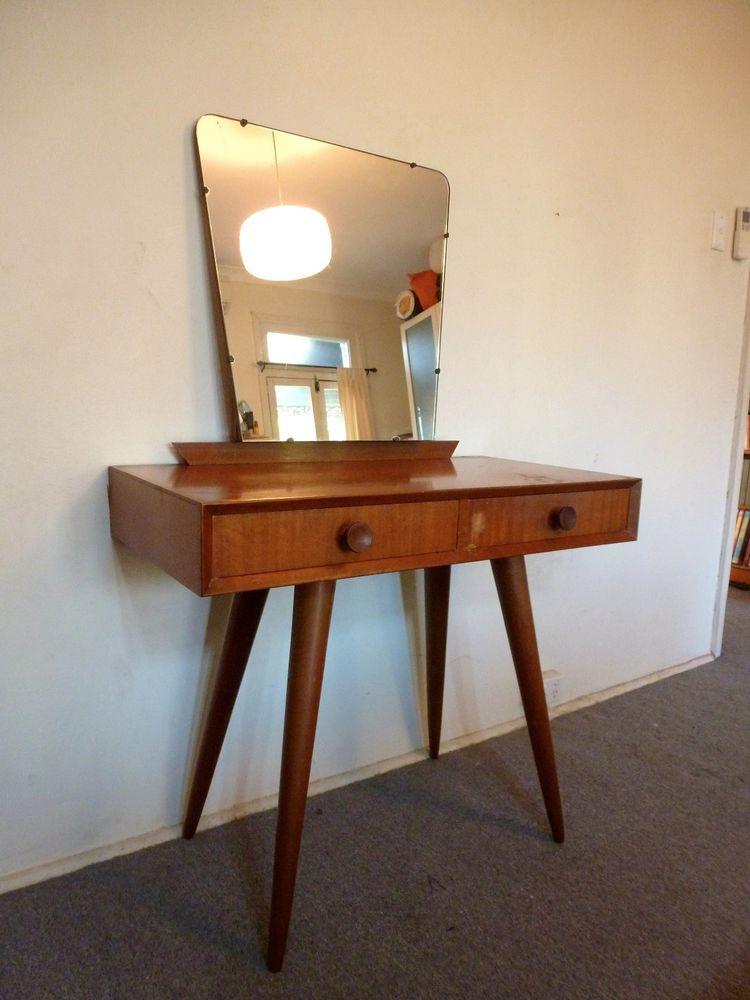 Mid Century Dressing Table Amp Mirror Retro Vintage