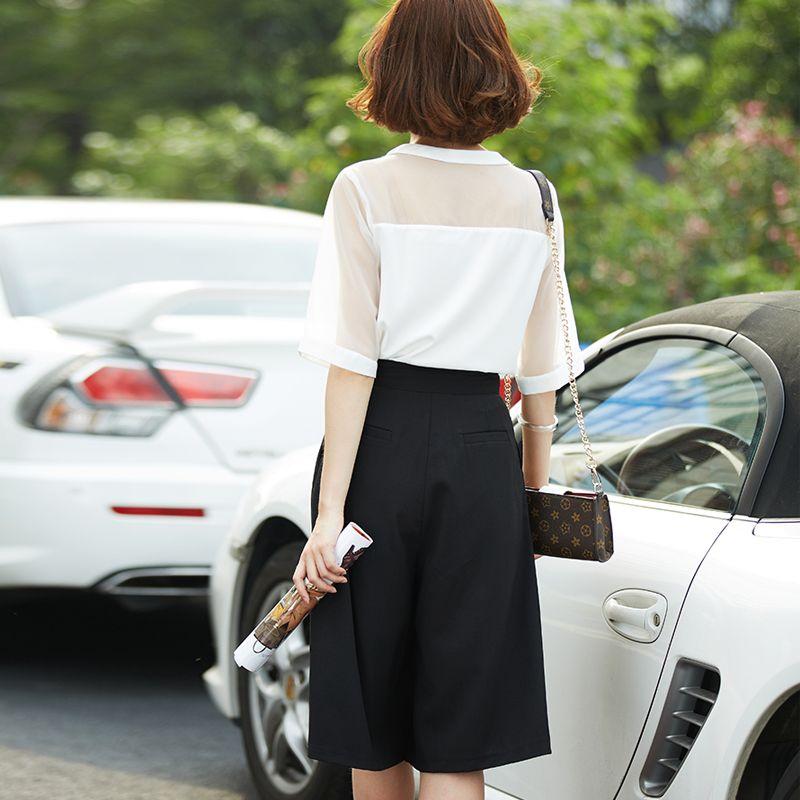 2015夏季新款韩版时尚套装 短袖上衣 大码宽松短裤两件套 女-tmall.com天猫
