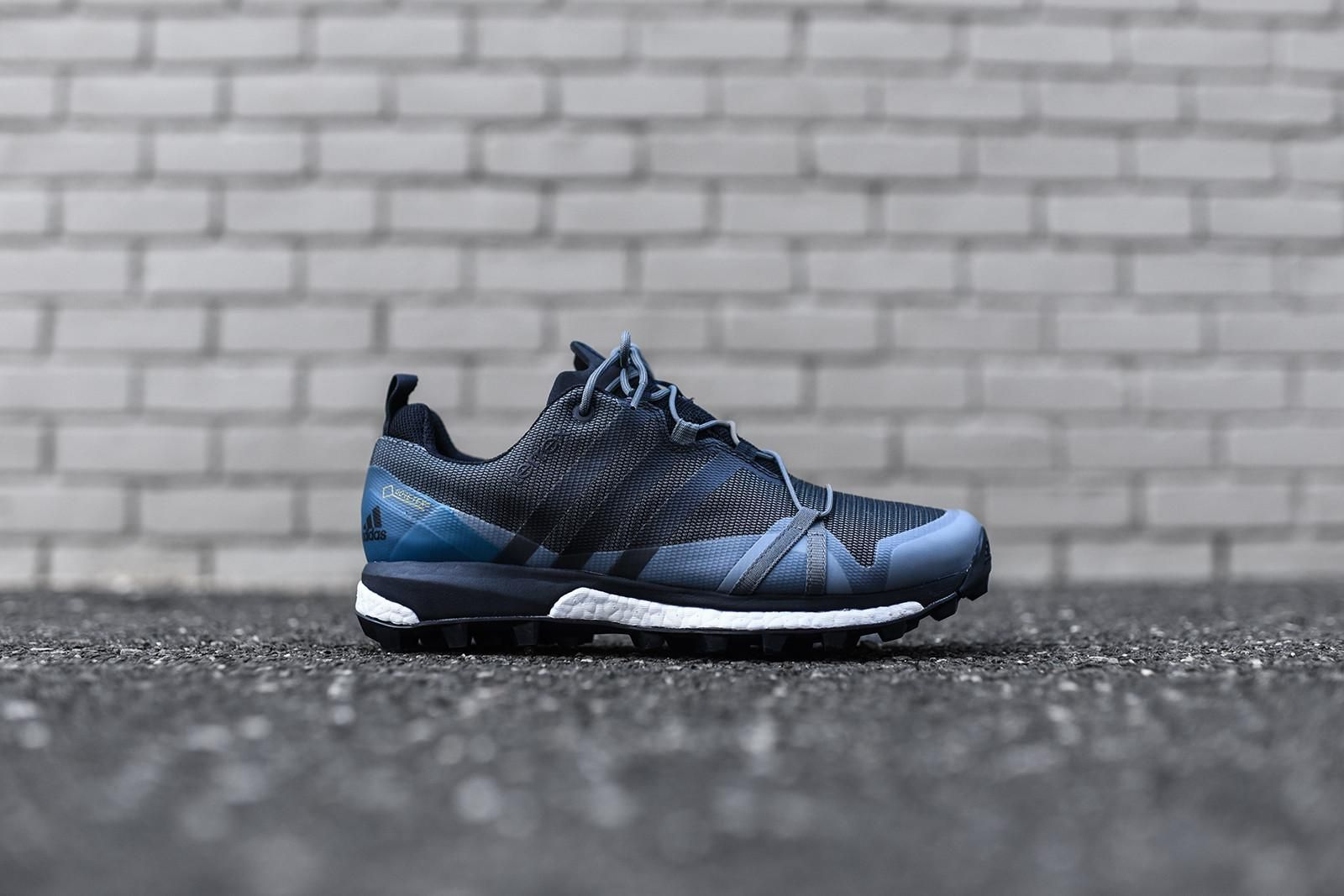 adidas Outdoor Terrex Agravic GTX - Vista Grey / Black / Shock Blue