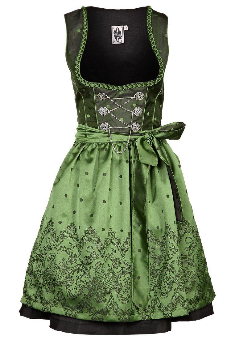 German Princess - Cocktailkleid / festliches Kleid - grün