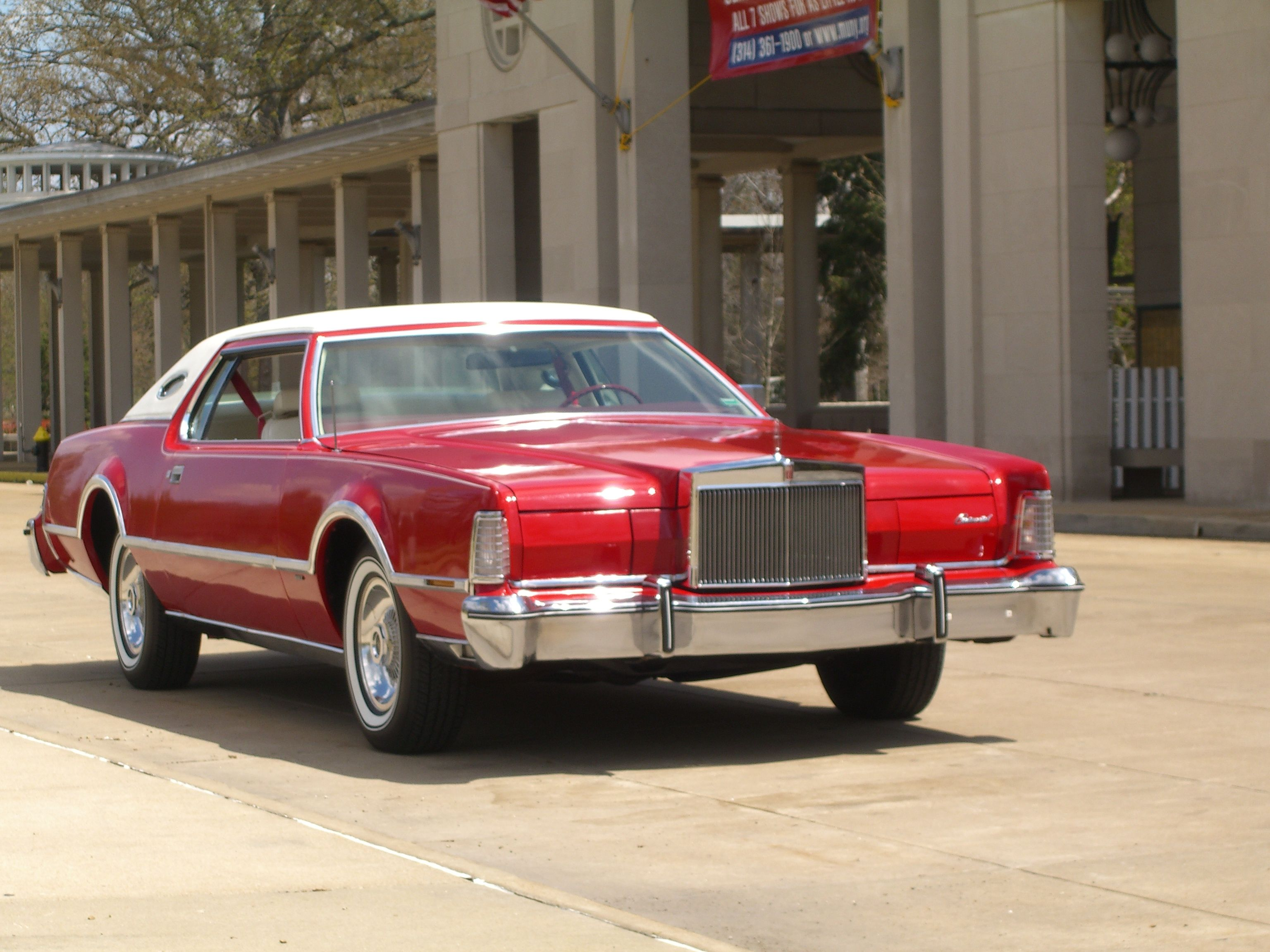 1976 lincoln continental mark iv lipstick designers series 5100000 miles