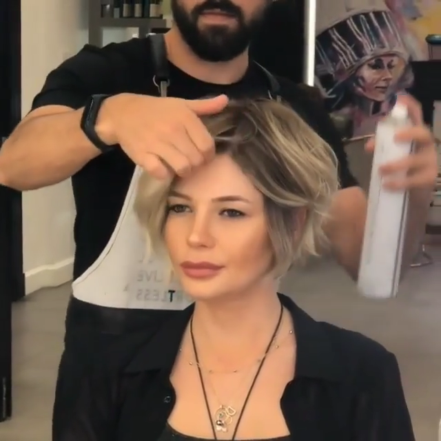 Easy Short Hair Cut