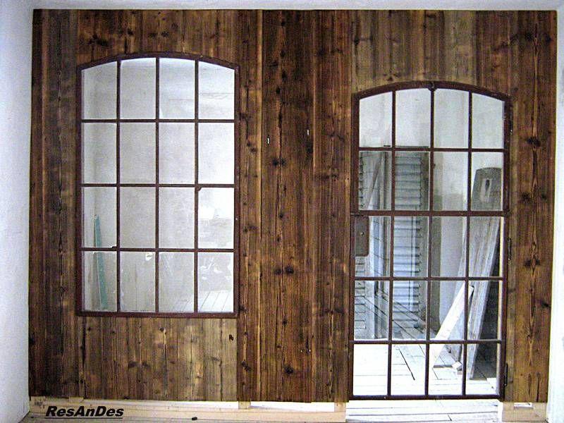 Alte Industriefenster Eisenfenster Resandes Stallfenster