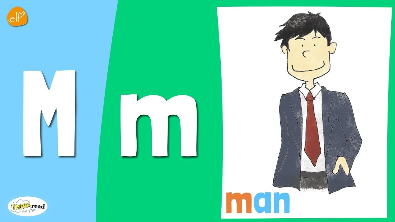 Letter M Practice Phonics and Vocabulary Think Read
