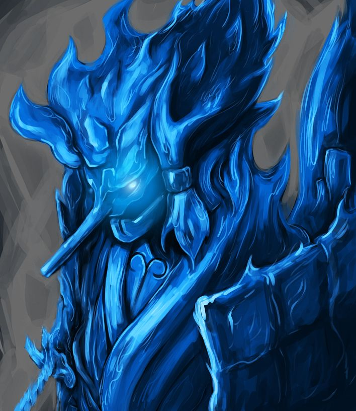 Tengu Susanoo Blue by ShenLongKazama on DeviantArt
