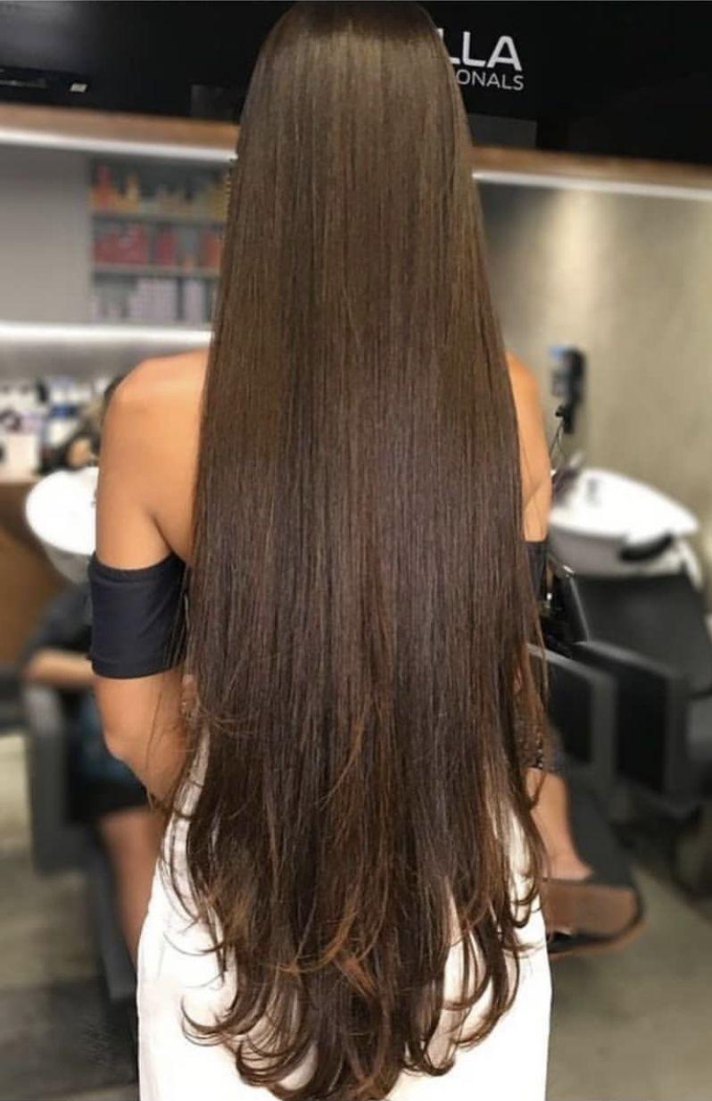 Pin By My Hairstyles On Long Hair Long Hair Styles Straight Hairstyles Long Straight Hair