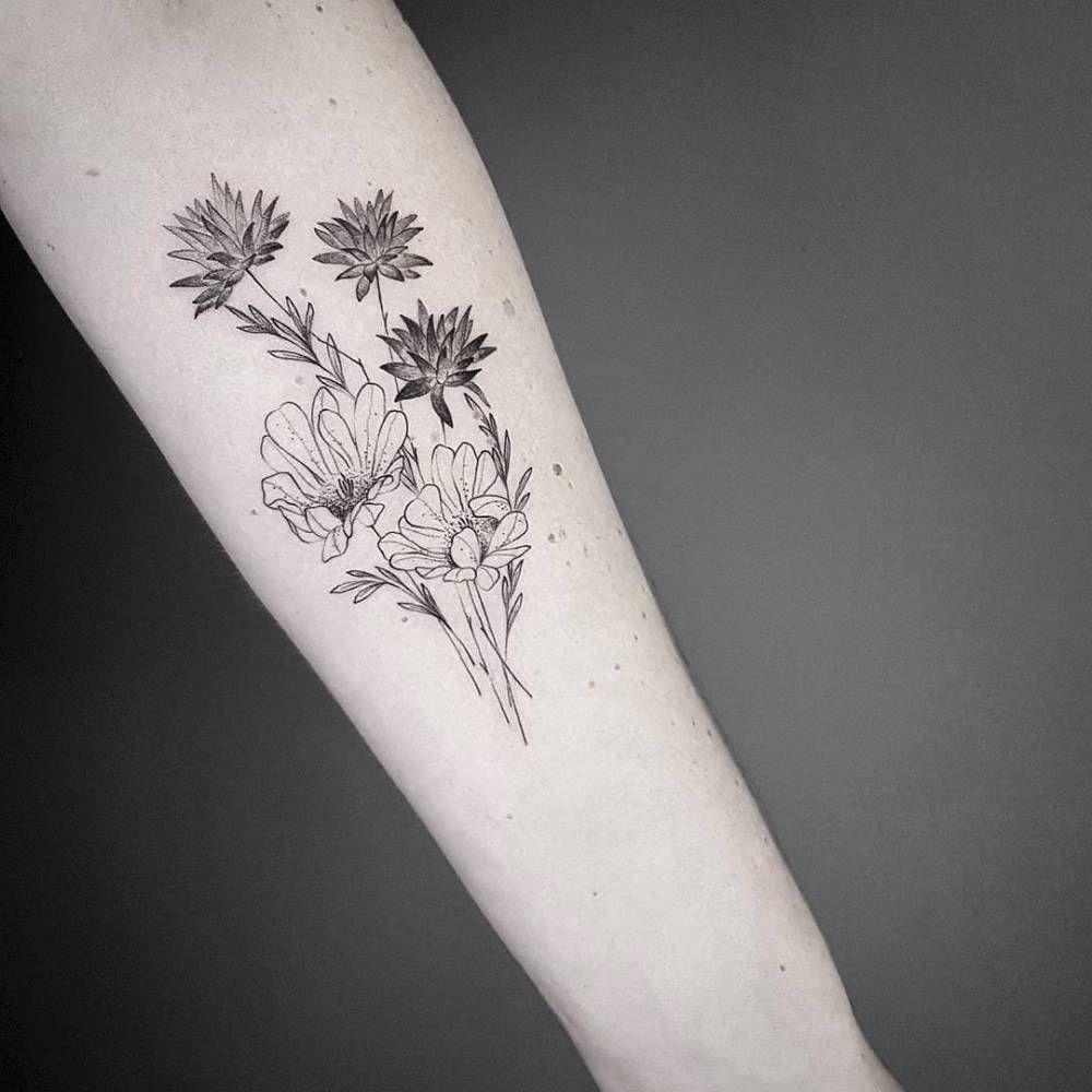 Desert Flowers For Alicia From The Netherlands Thanks Body Art Tattoos Tattoos Inner Forearm Tattoo