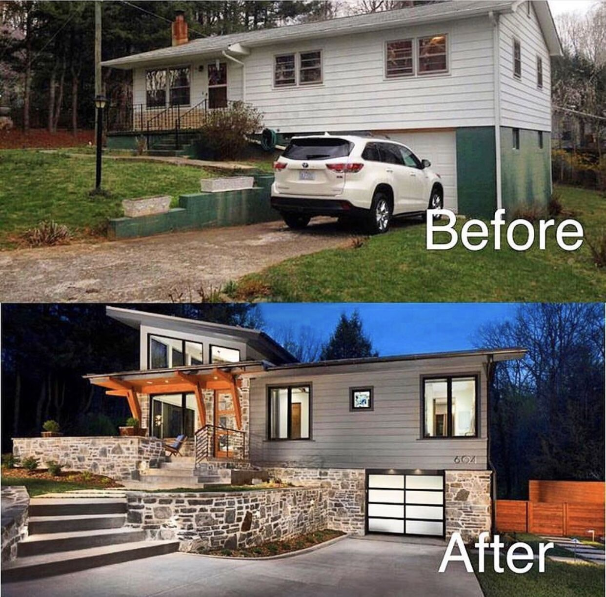 Split Level Home Exterior Makeover: REALTOR LIFE En 2019