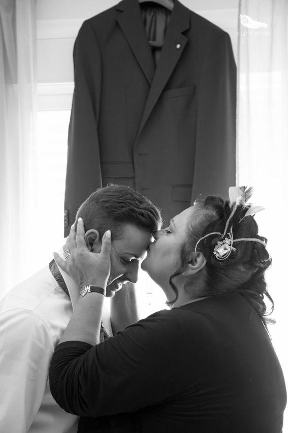 El beso de una madre.