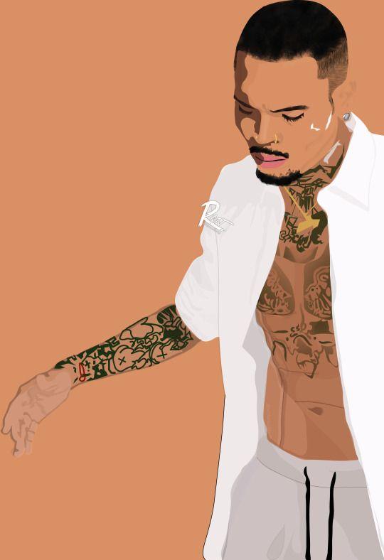 I wan pthink way amp woman Chris brown wallpaper