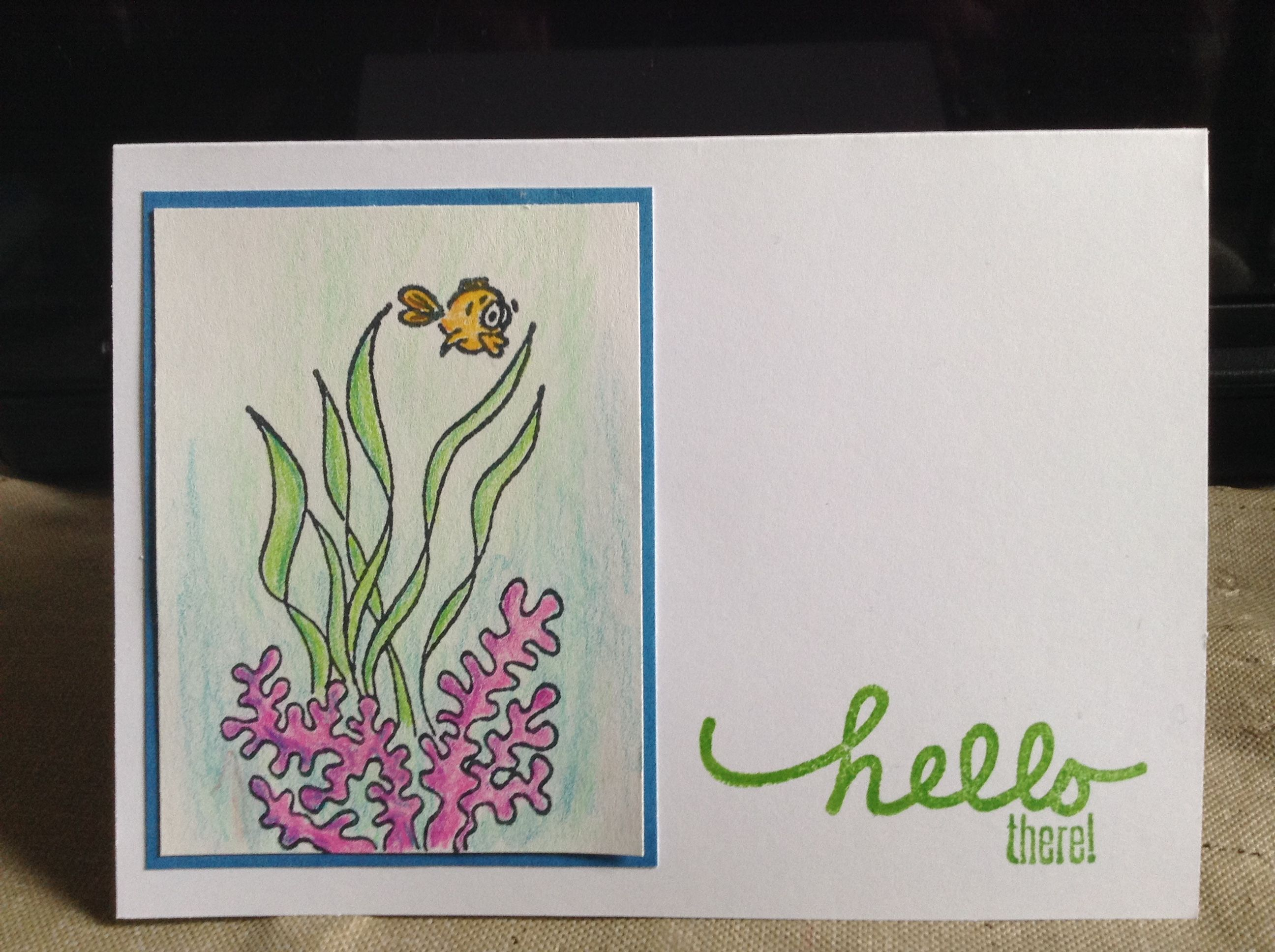 PaperCrafters Corner weekly challenge. #prismacolor #jillibeansoup #dylusions