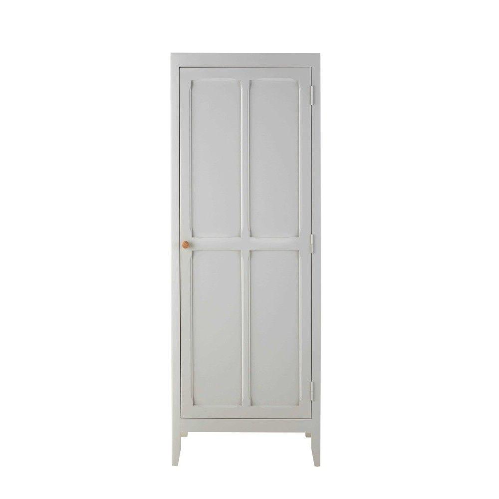 Kleiderschrank aus Kiefer, grau | Kleiderschränke, Grau und Holz