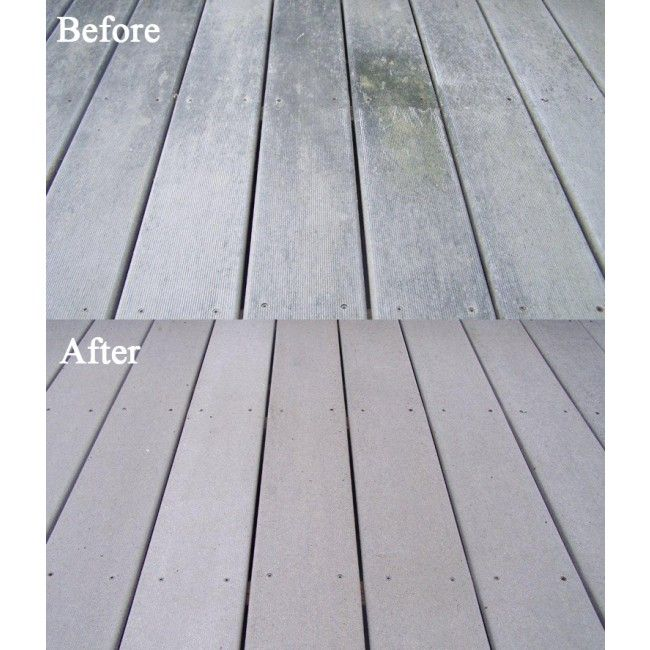 Can You Wash Composite Decking