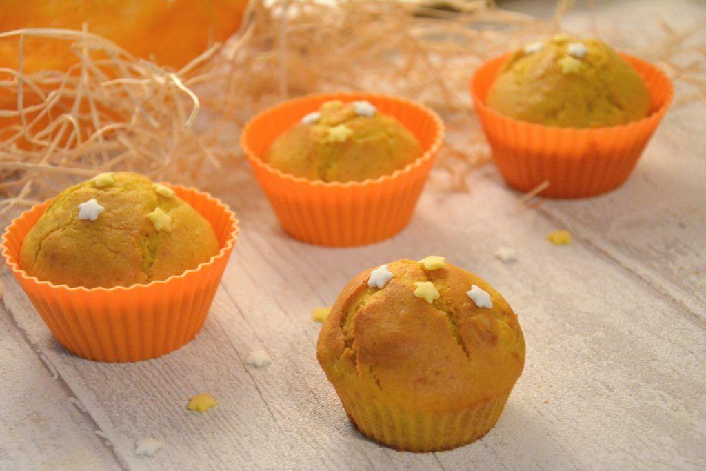 Muffins moelleux potiron, amandes, cannelle {Halloween ou pas #recettenovembre