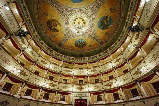 Teatro Bramante Urbania Marche  Italy