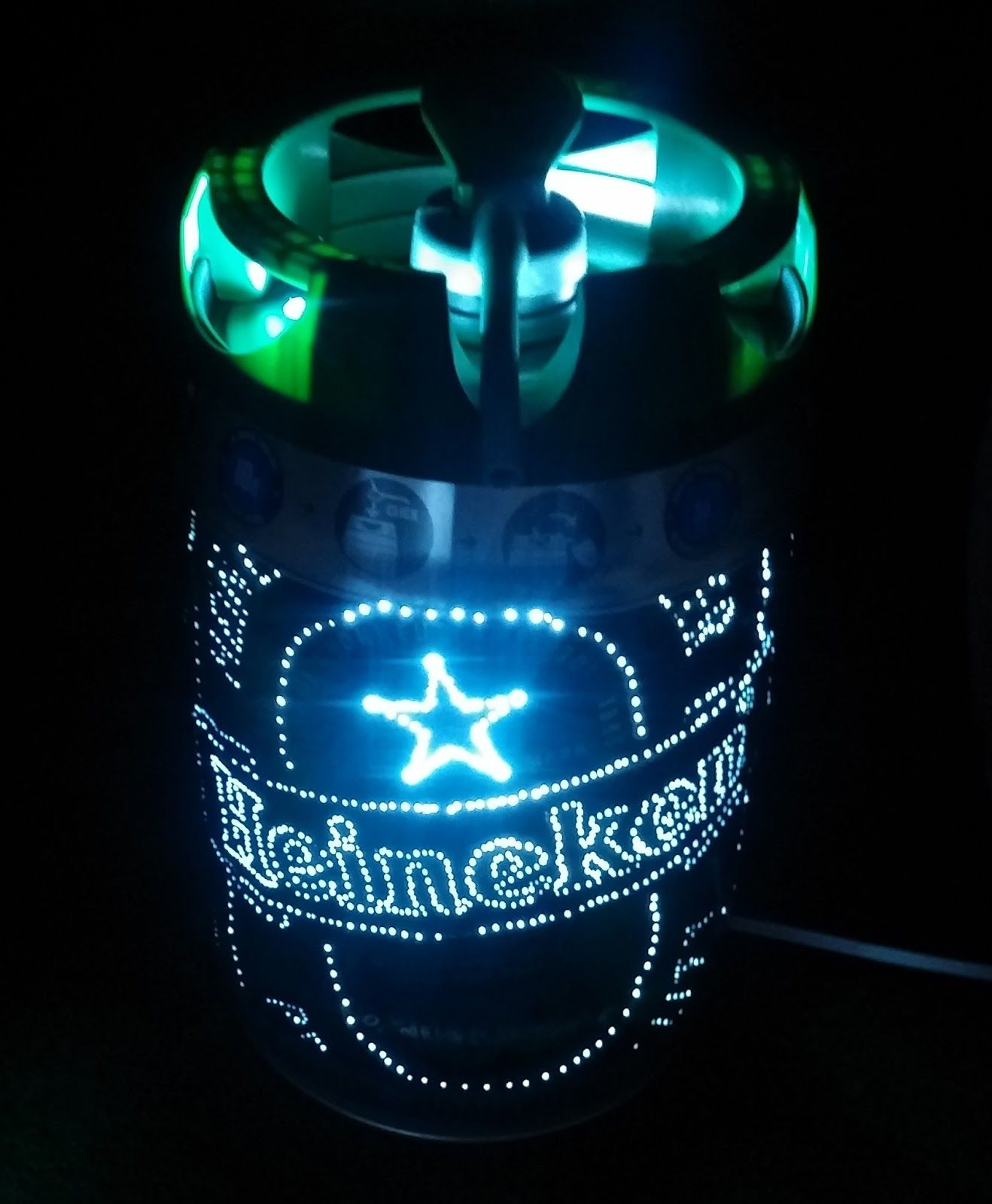 Luminaria Heineken Barril De Cerveja Cerveja Decoracao Barril