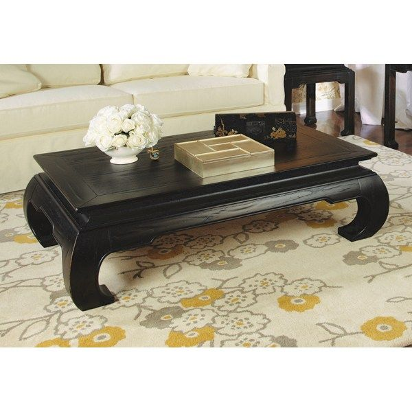 Coffee Table Ming Style Chow Legs Hammary 56 X 36 X 17 699