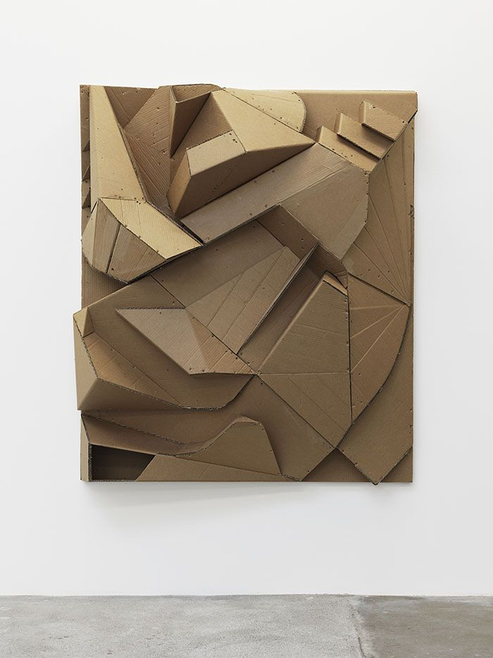 Florian Baudrexel Relief Brist 2014 abstract sculpture Modellbau