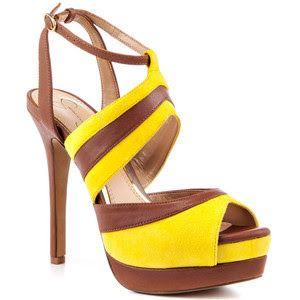 3228bbfd28f4 Jessica Simpson yellow wedge sandals